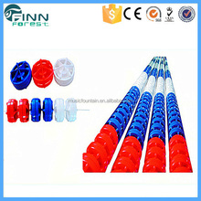 High quality durable plastic 25m PVC swimming pool lane rope