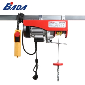 PA600A 0.3 / 0.6 ton electric hoist lever type crane with 18 m extension wire rope