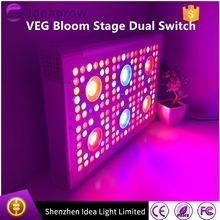 Hot selling hydroponic systems 5w Ideagrow led grow lights 300w led hydroponic grow panel light for greenhouse vertical planting