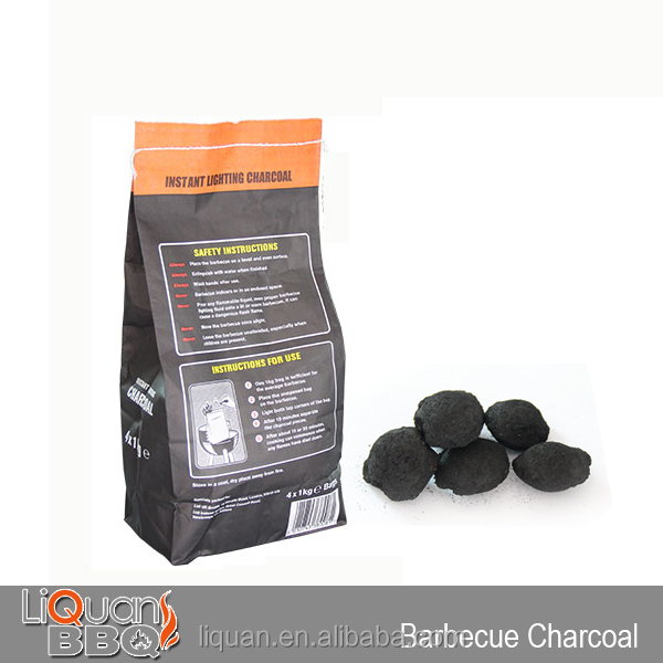 Low Price 4KG BBQ Charcoal, Charcoal White Quebracho