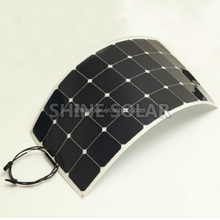 100W Marine use flexible solar panel with bypass diode