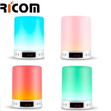 2018 Hot Sale Changeable Color lamp clarion night light blue tooth speaker