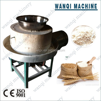 how to make a stone flour mill