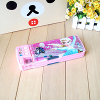 Kids stationery items case pencil PP printed pencil case