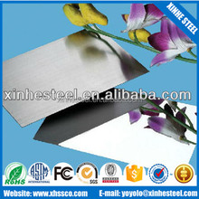 super mirror 8k polish 201 304 stainless steel sheet for decorative