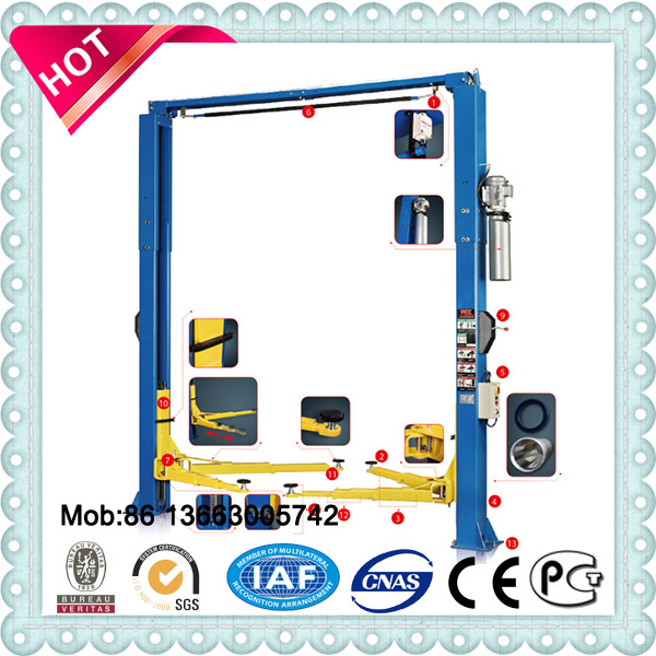 2 post cheap lift Car hoist In China used hydraulic car lift