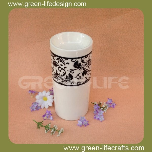 New unique oil burner ceramic warmer ceramic fragrance oil burner incense burner