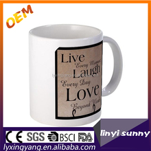 LFZ -01 ceramics mugs factory,colour changing mug , sublimation cup