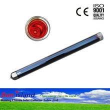 Three Target Solar Glass Vacuum Tube
