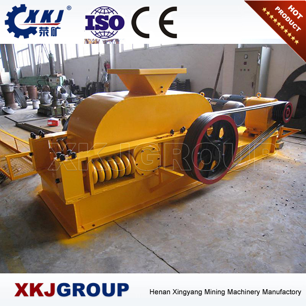 Industrial mini gold ore crusher/concrete roller crusher machine for sale