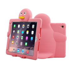 2017 new arrival factory price shock proof 3D animal case tablet,case for ipad air 2