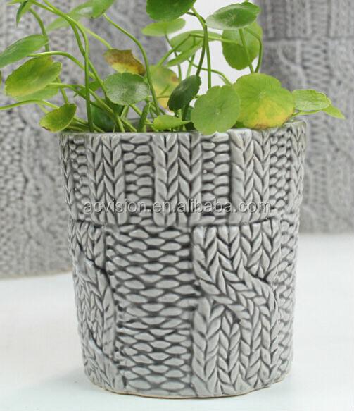Garden Ceramic Flower Pots Wholesale Decorative Plant Pots