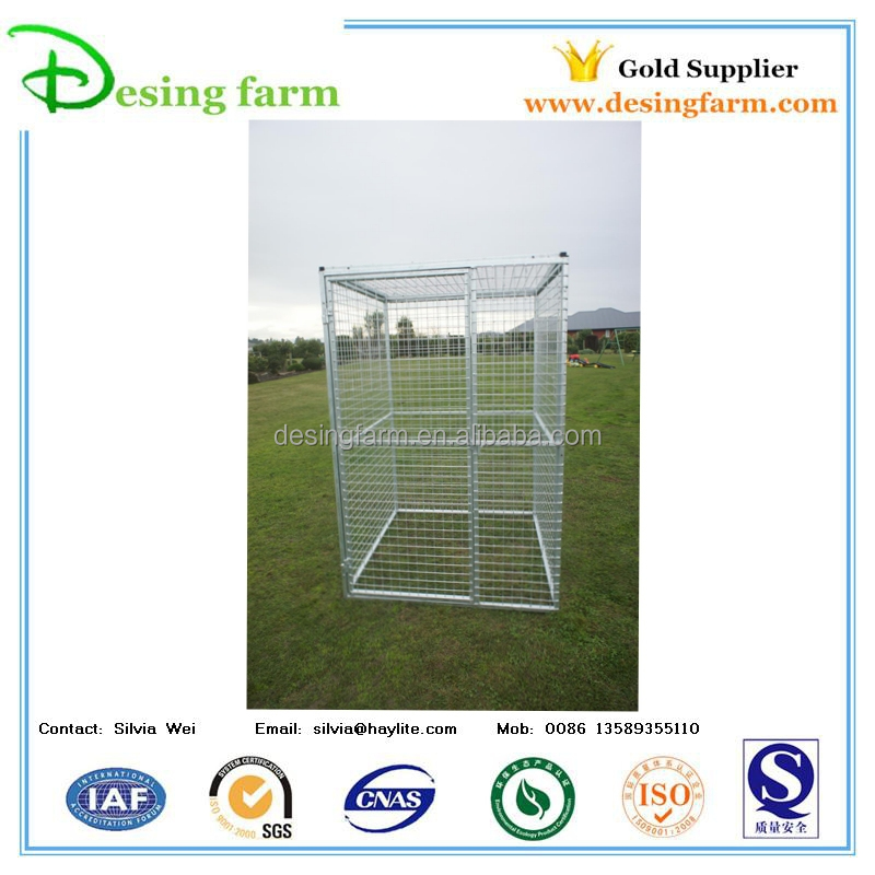 Hot dip galvanized dog kennel fence panel