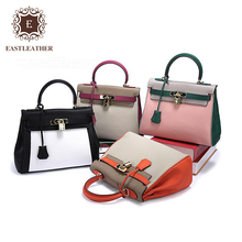 GL1000 Classic Famous brand real leather bags girls handbag 2017