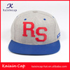 custom 5 panel flat brim baseball cap oem sports golf hip hop promotion cap/hat with applique embroidery logo