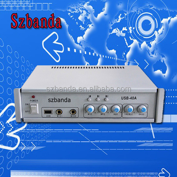 PA system amplifier / Public Broadcasting Amplifier / Professional Public Address System