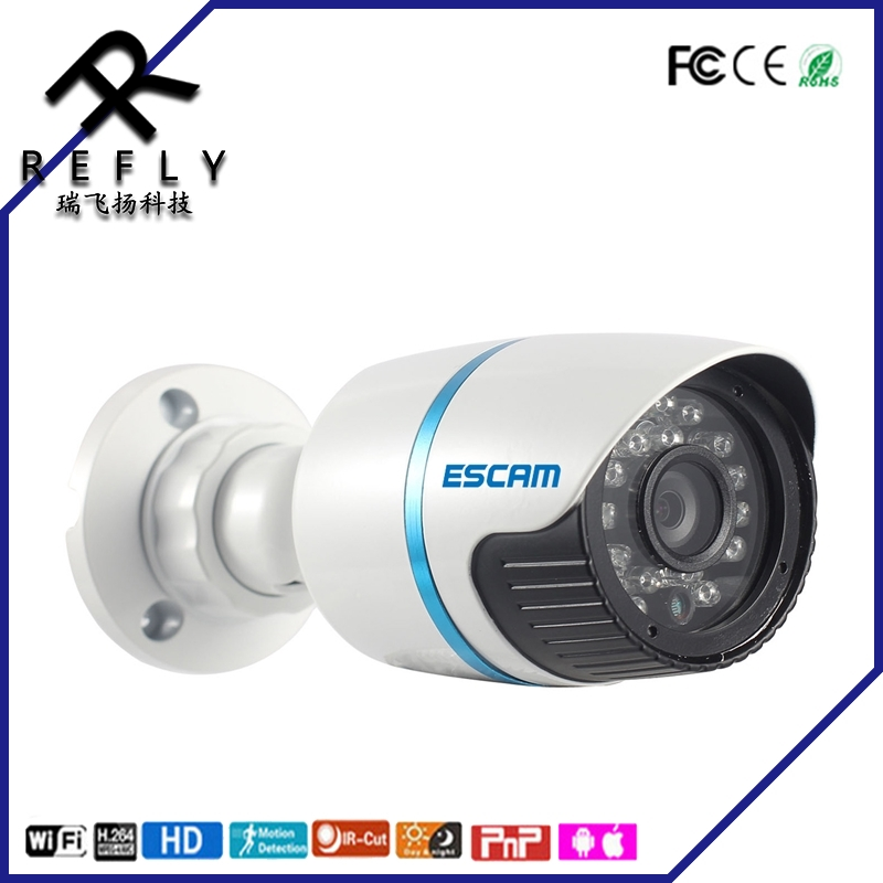 HD Security IP Camera ESCAM Q630M 720P ONVIF Waterproof Outdoor Webcam CCTV Day/Night IR CUT