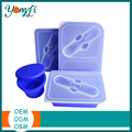 Hot Selling Silicone Food Container Set Picnic Food Container Set