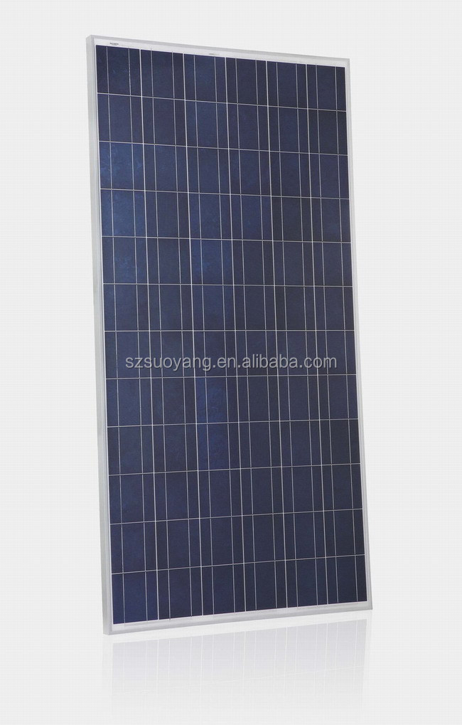 off grid photovoltaic power generation system 150w solar module for solar system
