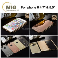 High quality metal stainless steel phone case for iphone 6s/ 6s plus with laser engraving technology custom mobile phone cover
