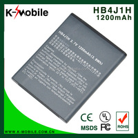 K-Mobile For huawei battery HB4J1H Battery for HUAWEI T8300 T8100 C8500 C8550 U8150