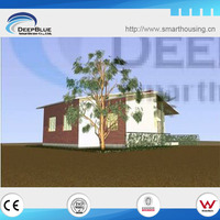 prefab light steel frame house ,mobile home