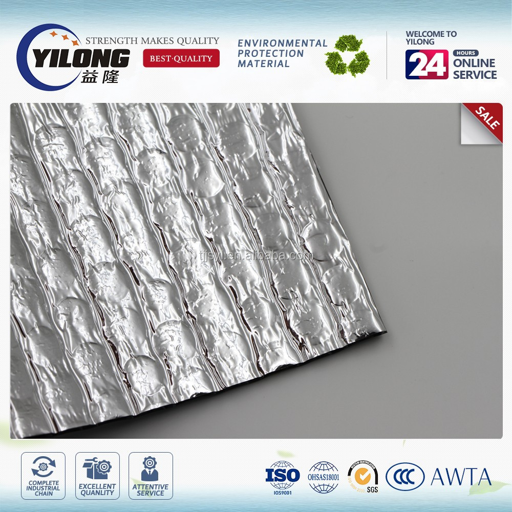 Heat insulation material for roofing/reflective aluminum bubble foil heat resistant insulation
