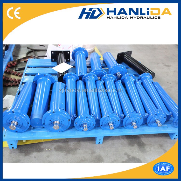 Fully stocked welded double acting steel hydraulic cylinder repair tools