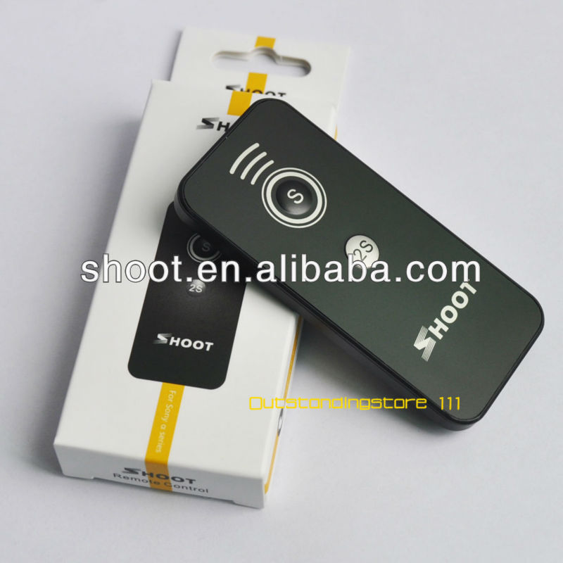 clear fine Wireless shutter release good durability control IR-U1 for Sony,Nikon,Canon,+ camera