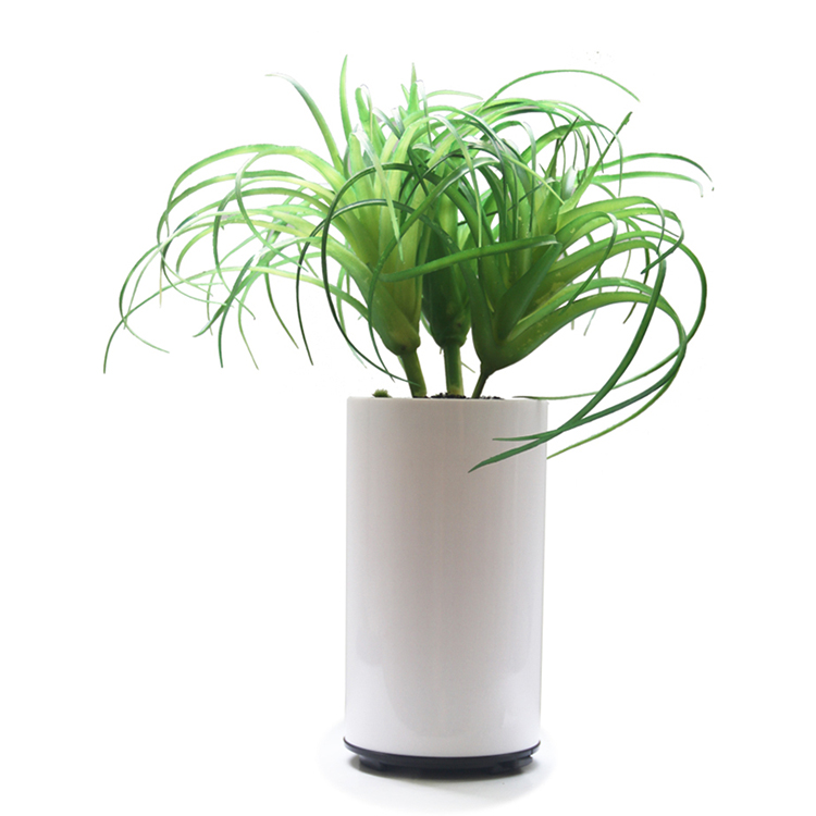 Home Decorative Artifical Potted Plants With Plastic Basement Electric Aromatherapy Oil Diffuser Air Purifier With Humidifier