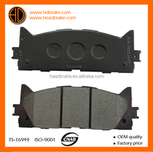 04465-06090 brake pads for toyota Camry