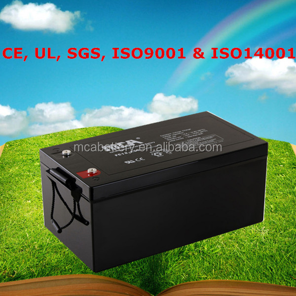 Good Quality 12V Battery Pack Rechargeable UPS Inverter Battery Charger Battery 220Ah