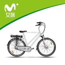 Newest cheap 700C city lady electric bicycle