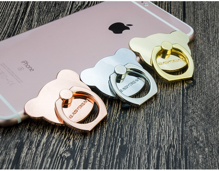 Mobile Phone Accessories Custom Metal Ring Cell Phone Kickstand For iPhone 7 Plus