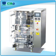 Vertical form fill and seal machine automatic bath salt packing machine