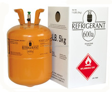 5kg cylinder Packing and Iso tank refrigerant gas R600a with none ODP