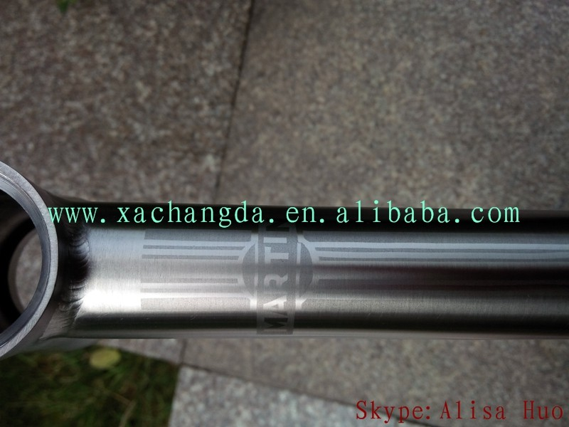 xacd made taper head tube titanium mtb bike frame titanium mount bike with taper head tube