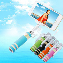 Portable Smartphone Monopod Selfie Stick,Handheld Monopod for IPhone 6 plus 5s 4s Samsung Smartphone