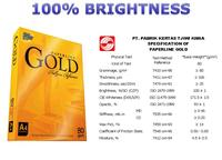 A4 Copy Paper 80gsm Paperline Gold