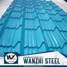 cheap price color coated crimped roof steel sheet