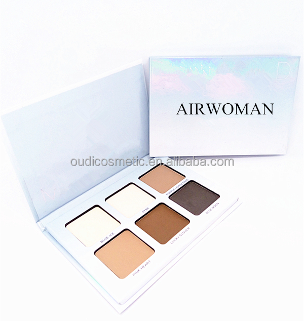 factory foundation makeup mineral powder cosmetic paper material pressed powder for your logo