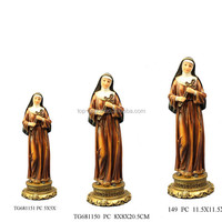 Resin St.Rita figurine catholic religious items
