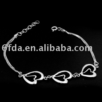 925 silver hand chain/925 silver jewelry