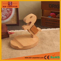 Pony shape decorative wooden carved phone surpport/tablet support