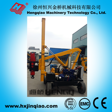 solar photovoltaics pv power station used hammer pile driver machine