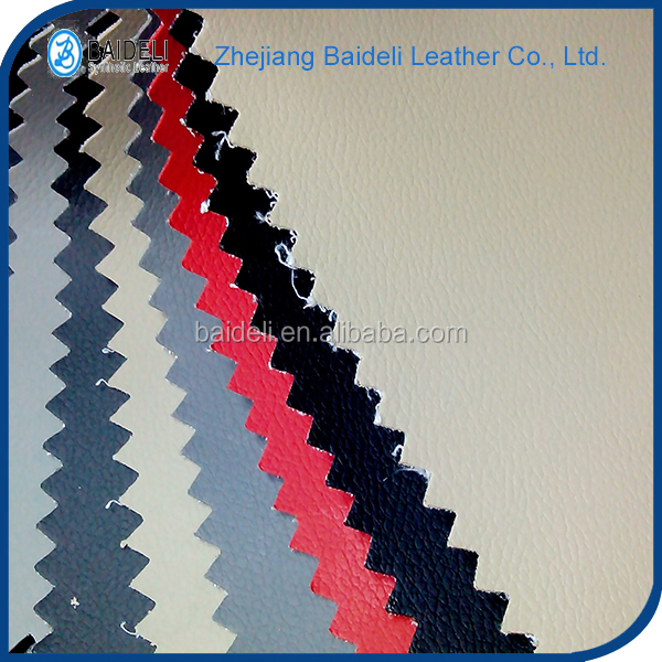 colourful marine leather soft handfeeling embossing leather