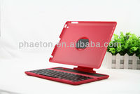 new Detached detachable 360 rotary Wireless Bluetooth Keyboard Case Cover for iPad 4 3 2 fashion