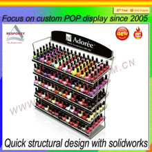 Shenzhen custom retail nail polish display