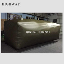 Durable flex tank container for gasoline, diesel oil storage and transport