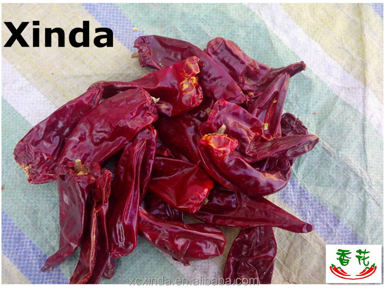 Dry red chillies, 2014 export dried Yidu Red chile
